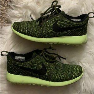 Green Nike Roshe